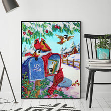 Load image into Gallery viewer, Snow Scenery 30x40CM(Canvas) partial special shaped drill diamond painting