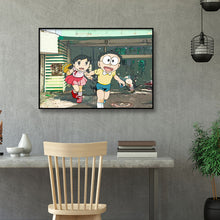 Load image into Gallery viewer, Cartoon Figure 40x30CM(Canvas) full round drill diamond painting