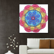 Load image into Gallery viewer, Color Mandala 30X30CM(Canvas) Partial Special Shaped Drill Diamond Painting