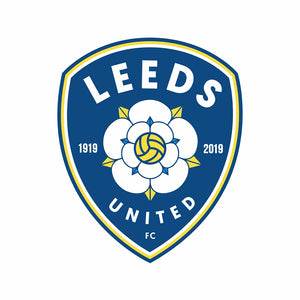Leeds United 30X30CM(Canvas) Full Round Drill Diamond Painting