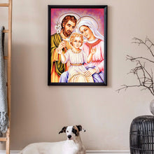 Load image into Gallery viewer, Jesus Family 40X50CM(Canvas) Full Round Drill Diamond Painting