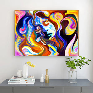 Color Feast 50X40CM(Canvas) Full Round Drill Diamond Painting