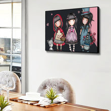 Load image into Gallery viewer, Gorjuss Cartoon Dolls Of 40*30CM(Canvas) Full Round Drill Diamond Painting