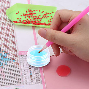 Glue Clay Tool Diamond Painting Accessories Diy Crafts Point Drill Clay Box