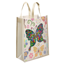 Load image into Gallery viewer, DIY Diamond Painting Handbag Mosaic Eco-friendly Bags (Multi Butterfly)
