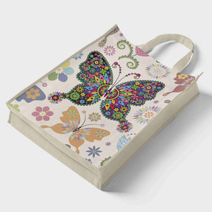 DIY Diamond Painting Handbag Mosaic Eco-friendly Bags (Multi Butterfly)