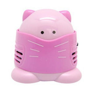 Mini Diamond Painting Tool Drill Desktop Vacuum Cleaner Cleaning Machine (Pink)