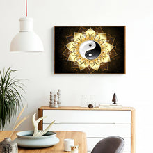 Load image into Gallery viewer, Mandala Flower 40*30CM(Canvas) Full Round Drill Diamond Painting
