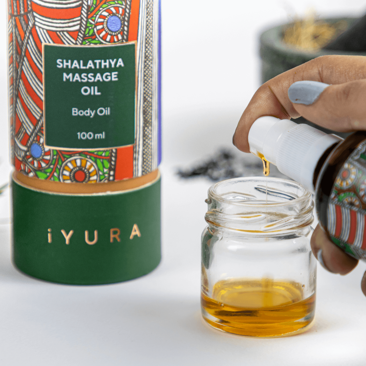 Shalathya Massage Oil
