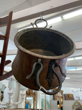 Load image into Gallery viewer, Hand Forged Copper Pot