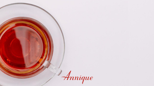 Rooibos tea in a tea cup