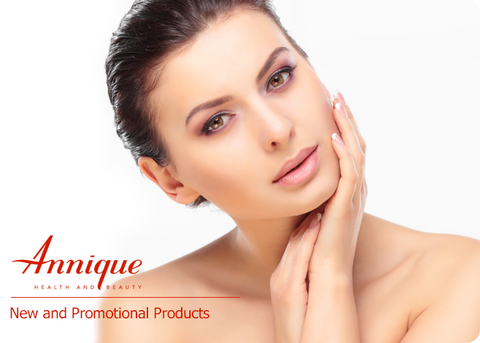 New and promotional products for Annique's Rooibos skincare line