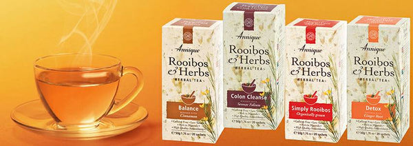 Selection of Rooibos teas