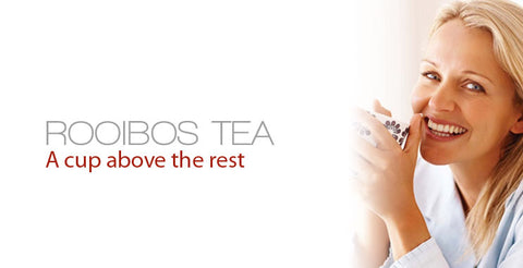 Banner for Annique's Rooibos range of teas