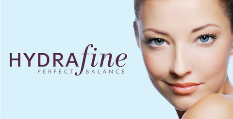 Banner for Annique's Hydrafine range of skincare products for Normal and Combination Skin