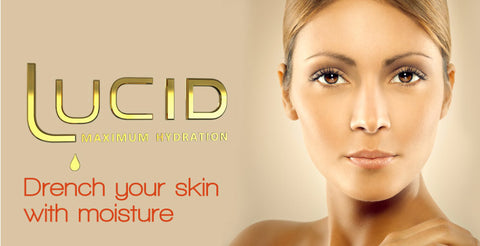 Banner for Annique's Lucid range of skincare products for Dry Skin