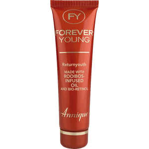 A tube of Annique's Forever Young Returnyouth with Rooibos for Anti-Ageing
