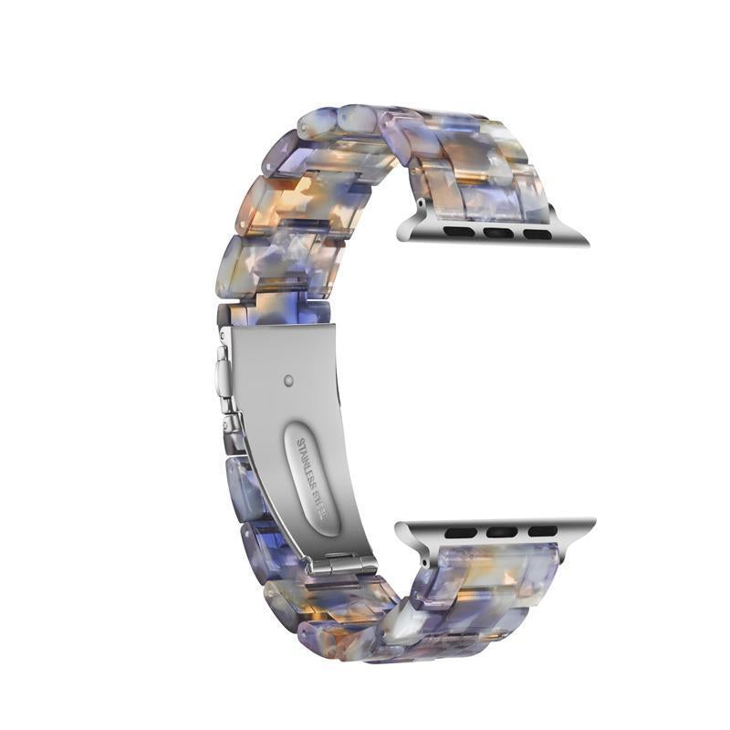 Blue Ocean Resin Band For Apple Watch