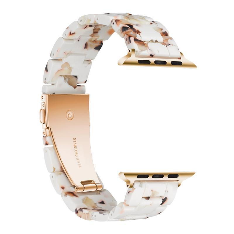Nougat Resin Band For Apple Watch