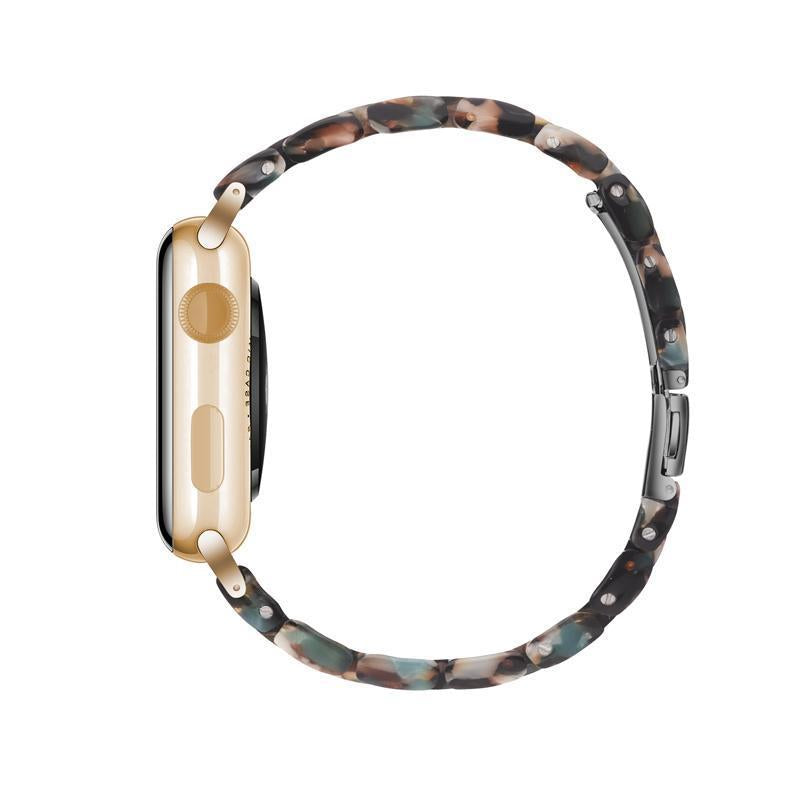 Blue Bloom Resin Band For Apple Watch