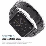 Stainless Steel Strap For Apple watch band apple watch 4 3 5 2 44mm 40mm 42mm 38mm iwatch band Link Bracelet watch Accessories