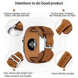 Leather Loop Band For Apple Watch Series 5 4 3 2 1 38mm 42mm Bracelet Strap for iWatch Series 4 40mm 44mm Accessories