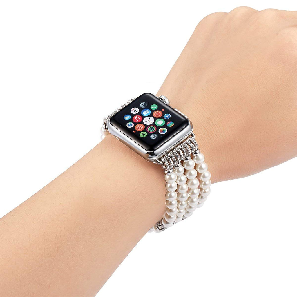 jewelry watch strap + case for Apple Watch bands 38mm 40mm 40mm 42mm bracelet women watchband for iwatch Series 5/4/3/2/1 cover
