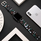 Colorful Soft Silicone Sport Band For Apple Watch 5 4 band 44mm 40mm Wrist Bracelet Strap For Apple Watch Series 3 2 1 38mm 42mm