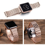 Bling strap for Apple watch band 44mm 40mm 38mm 42mm iWatch band Diamond stainless steel watchband bracelet Apple watch 5 4 3 2