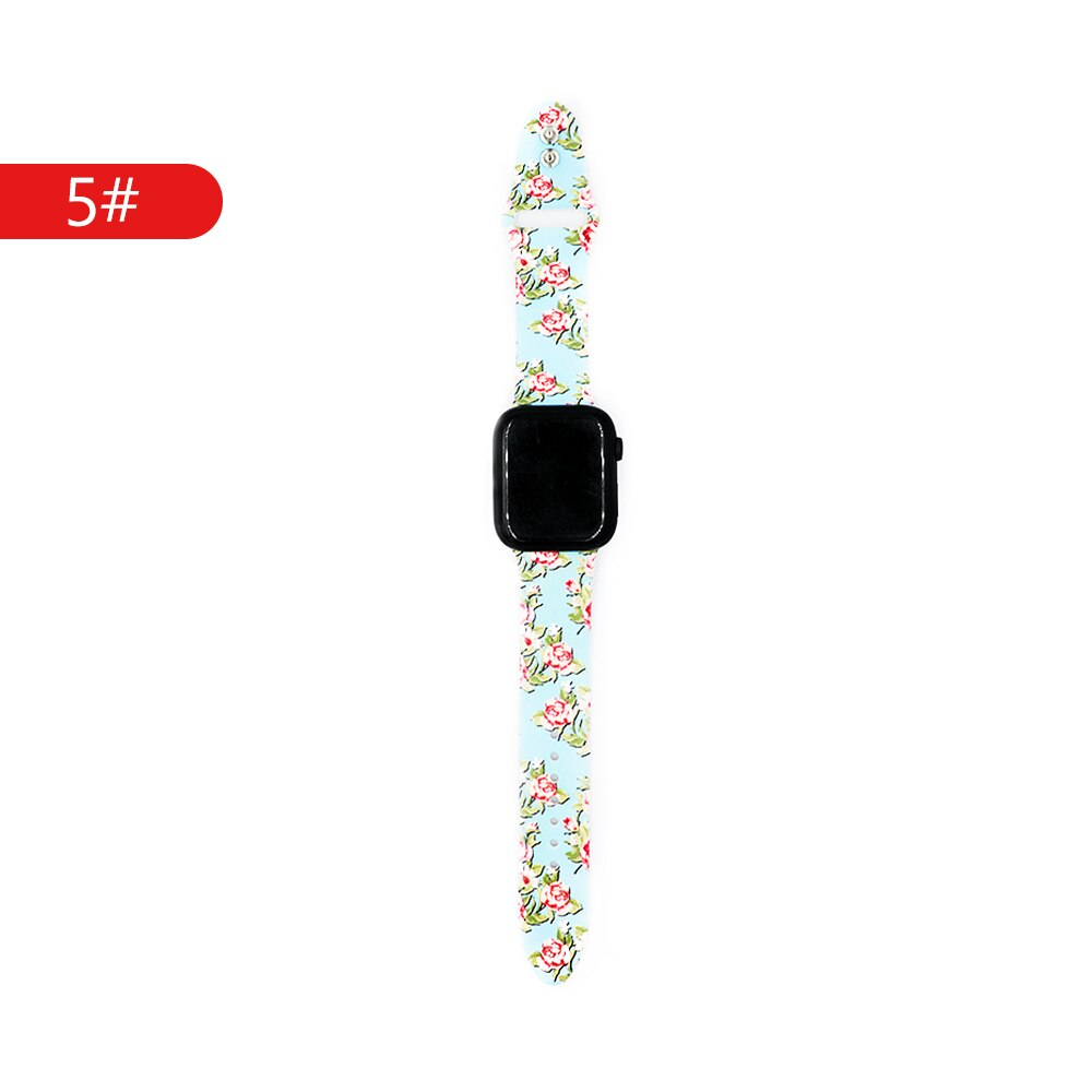 Strap For apple watch band 4 5 44mm 40mm correa iwatch band 42mm 38mm bracelet silicone apple watch 4 3 2 1 watch accessory