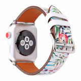 Accessories Apple Watch band strap, flower floral design print, 44mm/ 40mm/ 42mm/ 38mm , Series 1 2 3 4