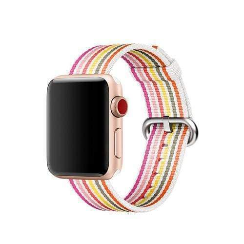 accessories Mix / 38mm / 40mm Apple Watch Series 5 4 3 2 Band, Best Apple watch band Nylon Woven Loop 38mm, 40mm, 42mm, 44mm