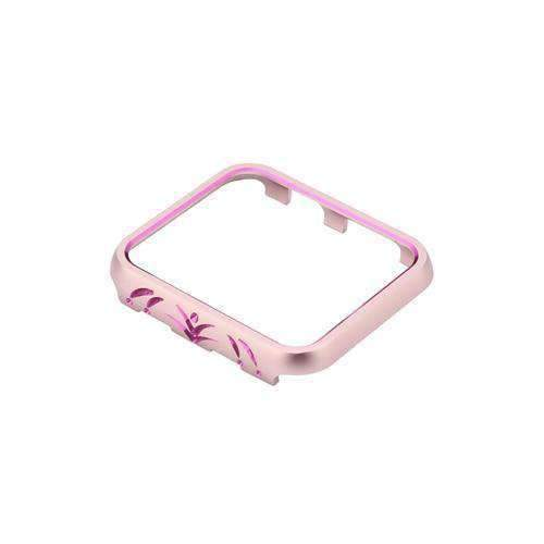 Apple 2 / 38mm Cases Cover For Apple Watch case 42mm/38mm iwatch band 3/2/1 aluminum alloy protective Screen Anti-fall Frame Protector Shell