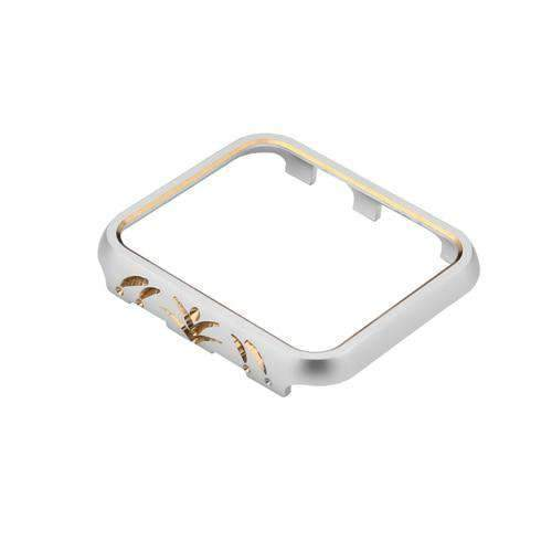 Apple 5 / 38mm Cases Cover For Apple Watch case 42mm/38mm iwatch band 3/2/1 aluminum alloy protective Screen Anti-fall Frame Protector Shell