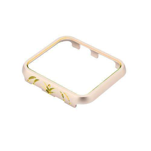 Apple 6 / 38mm Cases Cover For Apple Watch case 42mm/38mm iwatch band 3/2/1 aluminum alloy protective Screen Anti-fall Frame Protector Shell
