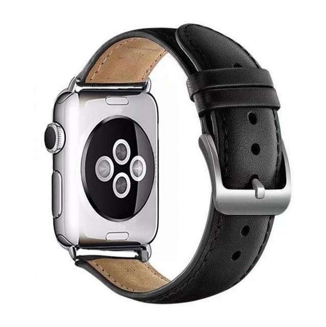 Apple black / for 38mm and 40mm manufacturer Leather Loop for iwatch 4 3 2 1 Strap for Apple Watch Band 38mm 42mm 40mm 44mm Flower Design