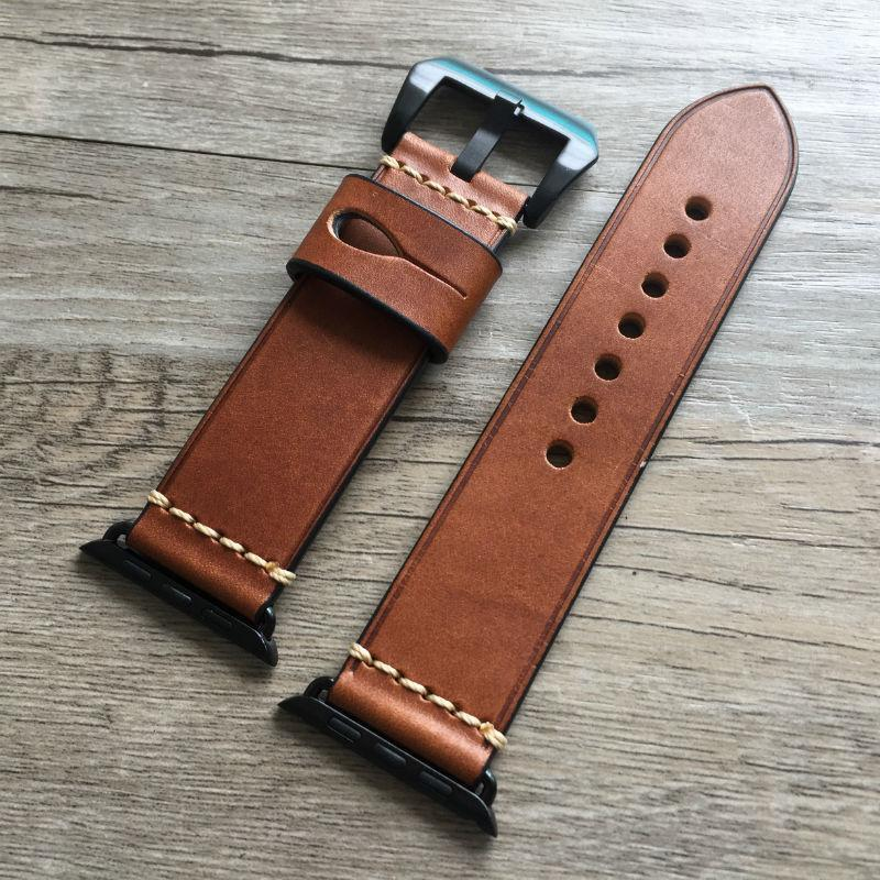 Apple Genuine Leather strap For Apple watch band apple watch 4 3 42mm 38mm iwatch band 44mm 40mm correa pulseira apple watch Accessorie