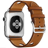 Apple hole-brown / for 38mm and 40mm manufacturer Leather Loop for iwatch 4 3 2 1 Strap for Apple Watch Band 38mm 42mm 40mm 44mm Flower Design