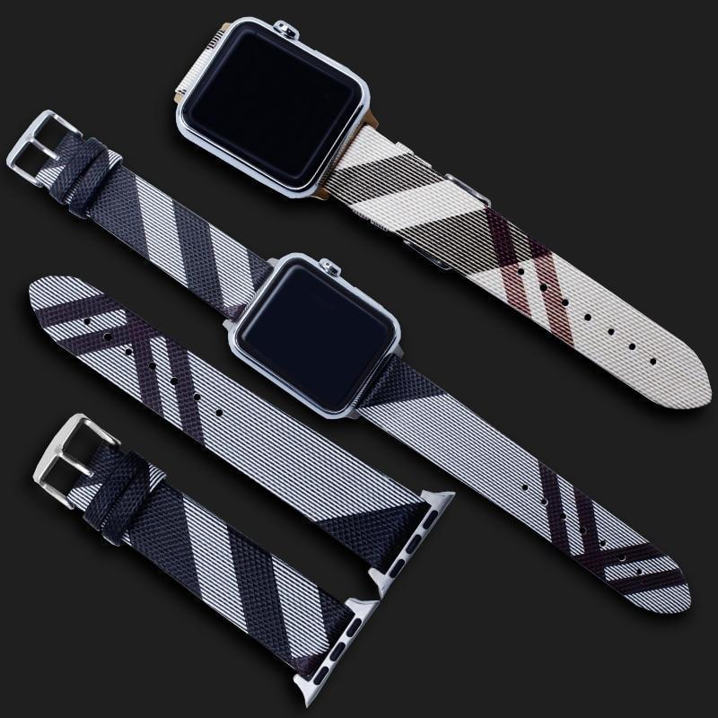 Apple Leather loop strap for apple watch band 4 42mm 38mm correa watchband for iwatch 44mm 40mm 3/2/1 bracelet accessories