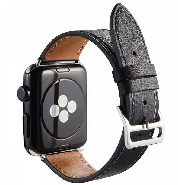 Apple Single-black / for 38mm and 40mm manufacturer Leather Loop for iwatch 4 3 2 1 Strap for Apple Watch Band 38mm 42mm 40mm 44mm Flower Design