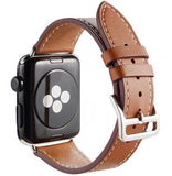 Apple Single-brown / for 38mm and 40mm manufacturer Leather Loop for iwatch 4 3 2 1 Strap for Apple Watch Band 38mm 42mm 40mm 44mm Flower Design