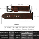 Apple Watch Accessories Genuine Leather For Apple Watch Band 44mm 40mm & Apple Watch Bands 42mm 38mm Series 4 3 2 1 Watch Strap