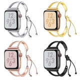 apple watch bands Apple Watch Series 5 4 3 2 Band, Apple Watch Minimalist Band Cuff, Luxury Bracelet Fits 38mm 40mm 42mm 44mm - US fast shipping