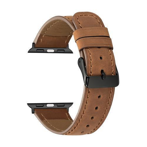 Home 2 / 38mm/40mm series 4 5 Genuine Leather strap for apple watch 5 4 band 44mm 40mm apple watch 3 42mm 38mm iwatch series 5/4/3/2/1 bracelet Accessories