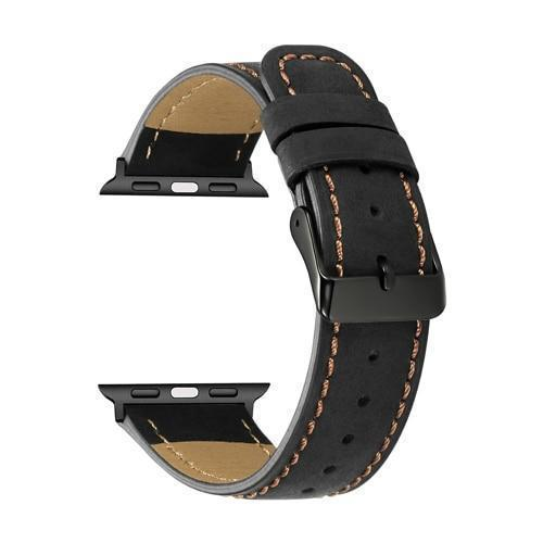 Home 3 / 38mm/40mm series 4 5 Genuine Leather strap for apple watch 5 4 band 44mm 40mm apple watch 3 42mm 38mm iwatch series 5/4/3/2/1 bracelet Accessories