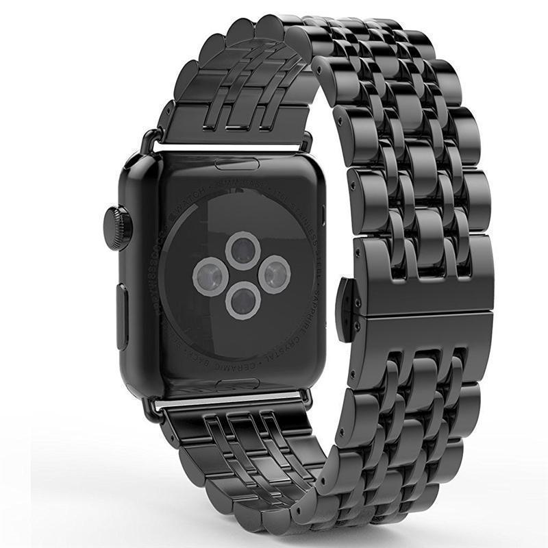 Home Carbon fiber Case+Strap For Apple Watch band 44mm 40mm apple watch 5 4 3 2 1 42mm/38mm iwatch band correa Stainless Steel watchband