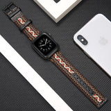 Home Fabric&leather strap for apple watch 5/4/3/2/1 apple watch band 44mm 40mm 42mm 38mm iwatch bracelet high quality Accessories