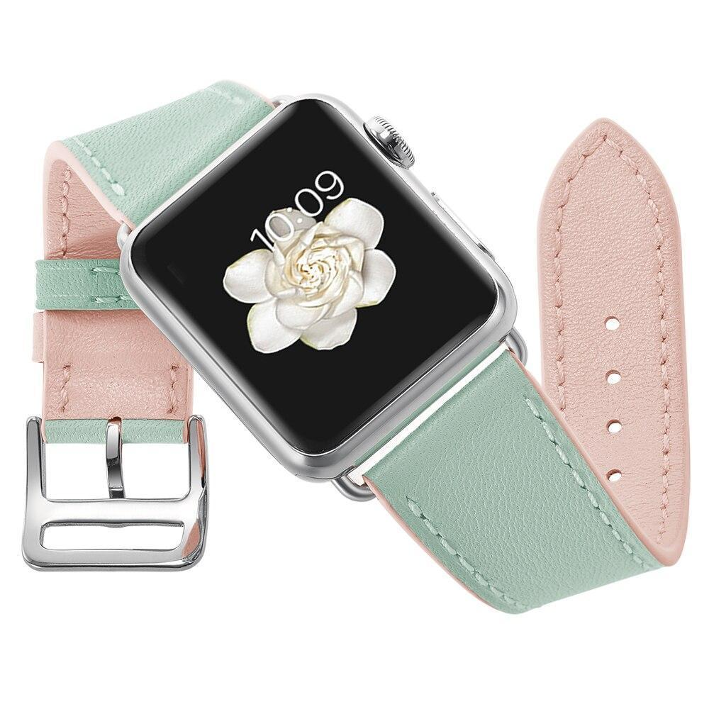 Dream Colors Genuine Leather Apple Watch Band