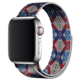 Red'n Blue Design Milanese Apple Watch Band
