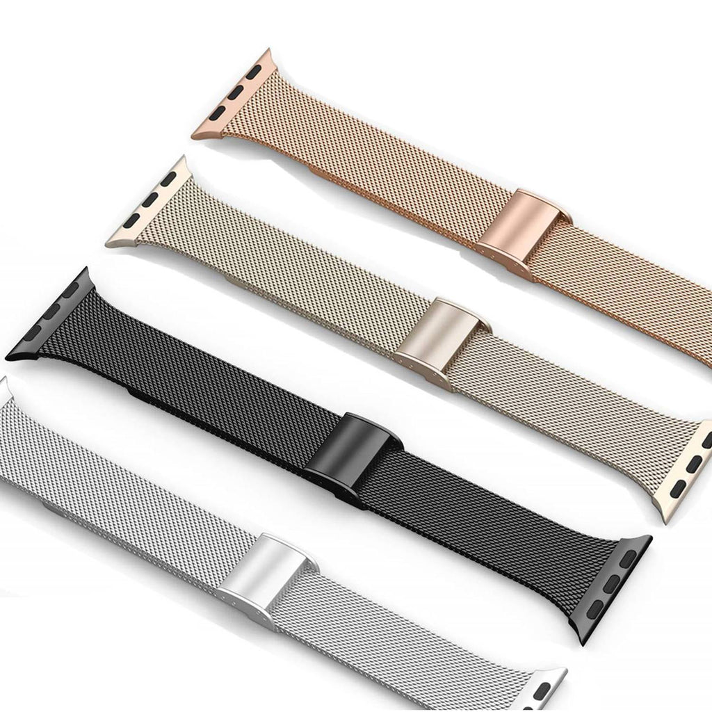 Cali® Black Milanese Apple Watch Band
